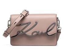 Kmetal Signature Shoulder bag Handtaschen für Taschen in rosa