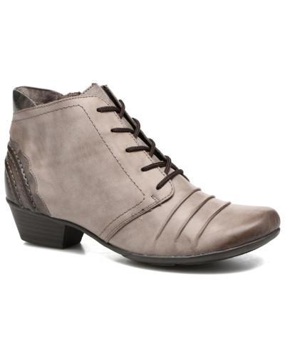 Milena D7387 Stiefeletten & Boots in grau
