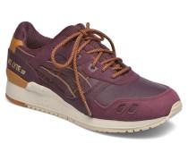 Gellyte III Sneaker in weinrot