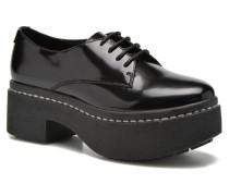 RIYAL Schnürschuhe in schwarz
