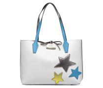 Bobbi Inside Out Tote Handtaschen für Taschen in weiß