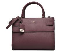Cate Satchel Porté main Handtaschen für Taschen in weinrot