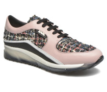Sneaker Run Boucle in rosa