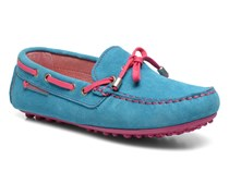 Catherine Slipper in blau