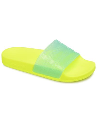 adidas Damen Adilette Lilo W Clogs & Pantoletten in gelb