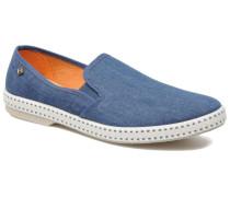 Jean m Espadrilles in blau