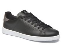 Deportivo Basket Piel M Sneaker in schwarz