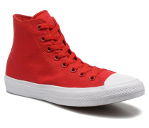 Chuck Taylor All Star II Hi M Sneaker in rot