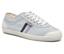 Basic Retro Sneaker in grau