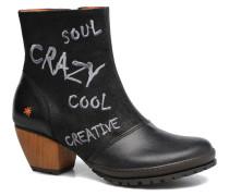 OSLO 1231 Stiefeletten & Boots in schwarz