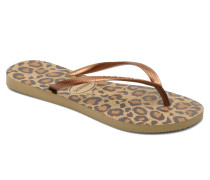 Slim Animals Zehensandalen in braun