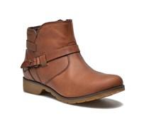 Delavina Ankle Stiefeletten & Boots in braun