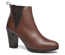UBAK *Veau HAVANE ~1ere.CUIR Stiefeletten & Boots in braun