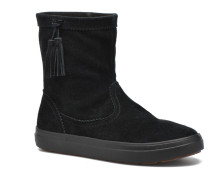 Lodgepoint Suede Pullon Boot W Stiefeletten & Boots in schwarz