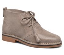 Cyra Catelyn Stiefeletten & Boots in beige