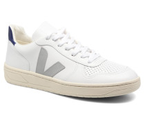 V10 LEATHER Sneaker in weiß