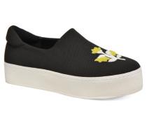 Cici Broidery Sneaker in schwarz