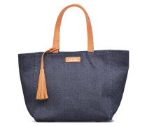 Cabas Parisien Porté Main Handtasche in blau