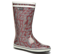 Malouine Print Stiefeletten & Boots in mehrfarbig