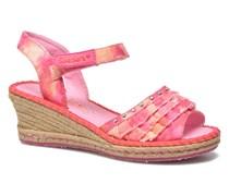 Tikis Ruffle Ups Sandalen in rosa