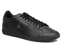 Courtset Sneaker in schwarz