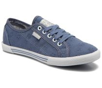 Aberlady Anglaise Sneaker in blau