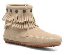 DOUBLE FRINGE BT Stiefeletten & Boots in beige