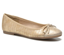 Lunama Ballerinas in goldinbronze