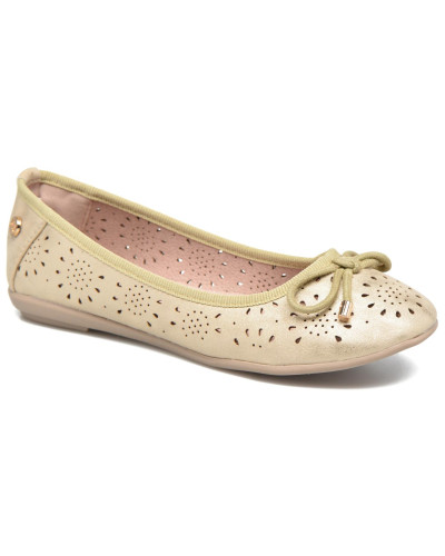 Almudena Ballerinas in goldinbronze