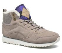 Cl Lthr Mid Outdoor Sneaker in grau