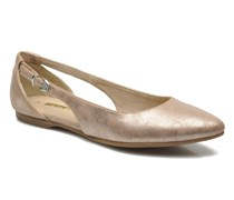 Chili Ballerinas in goldinbronze
