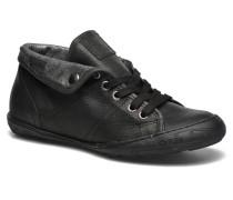 Gaetane Emb Sneaker in schwarz