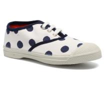 Tennis Pois E Sneaker in weiß