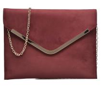 Pochette suédée S Mini Bags für Taschen in weinrot