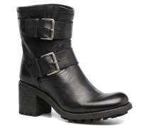 BIKER 7 MINI STRAP REX WASH Stiefeletten & Boots in schwarz