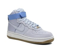 Wmns Air Force 1 Hi Prm Sneaker in blau