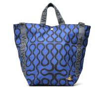 AFRICA PROJECT Squiggle Holdall Handtaschen für Taschen in blau
