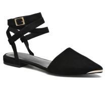 Fleur II Sandalen in schwarz