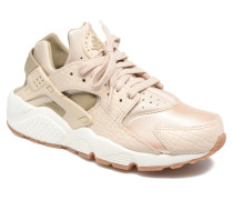 Wmns Air Huarache Run Prm Sneaker in beige
