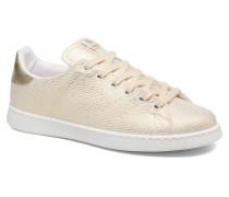 Deportivo Basket Tejido Textile Sneaker in goldinbronze