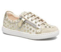 Play Lo Bi zip Sneaker in goldinbronze
