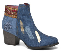 Denim patch country Stiefeletten & Boots in mehrfarbig