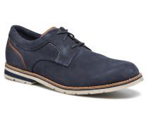 Statford Plain Toe Schnürschuhe in blau