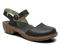Yggdrasil N178 Sandalen in schwarz
