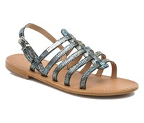 Brillant Sandalen in blau