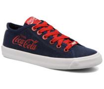 Asteca Man Sneaker in blau