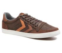 Slimmer Stadil Duo Oiled Low Sneaker in braun