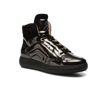 Casy lace up Sneaker in schwarz