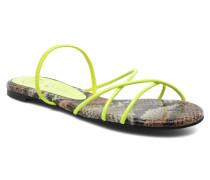 SPIRAL Sandalen in gelb