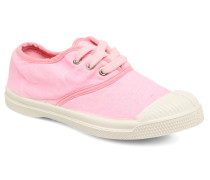 Tennis Colorpiping E Sneaker in rosa